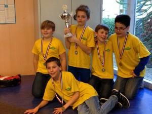 Spits schoolschaakkampioen SGS